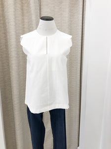 Kennedy Top in Ivory