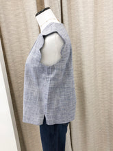 Kennedy Top in Chambray