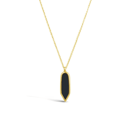 Voyager Necklace in Gold Vermeil by Sierra Winter Jewelry