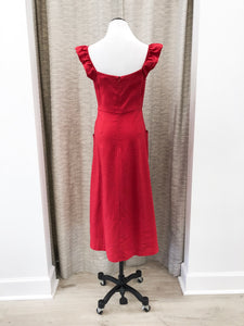Cameron Dress in Red - Final Sale