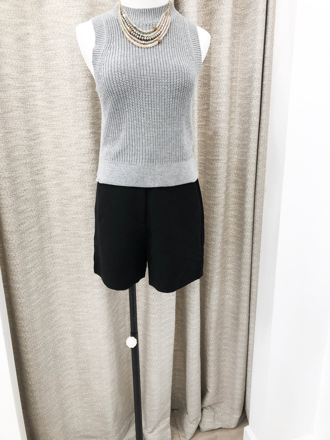 Louie Shorts in Black - FINAL SALE