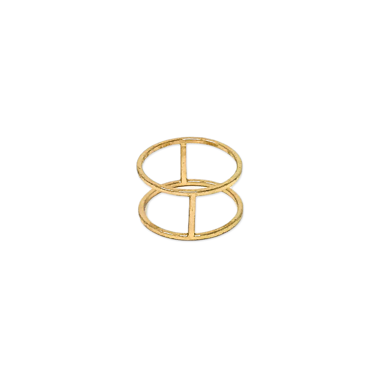 Brass Circle Ring