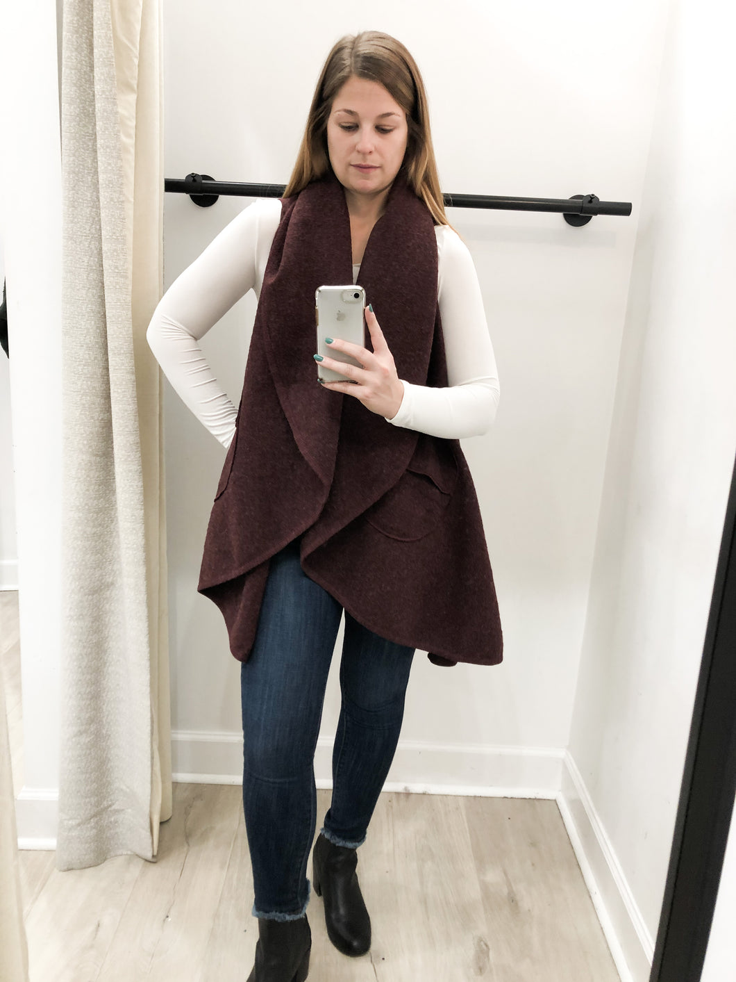 Fireside Shrug in Wine