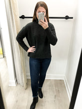 Nessa Turtleneck Sweater in Charcoal