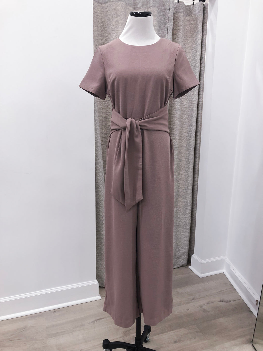 Astrid Jumpsuit in Mocha