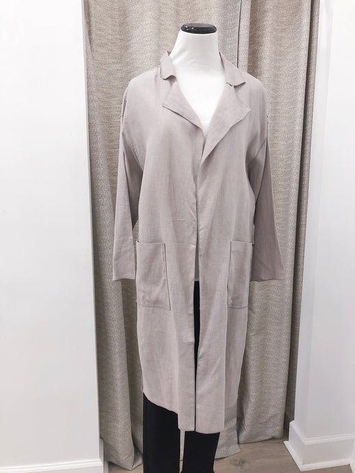 Denise Jacket in Grey