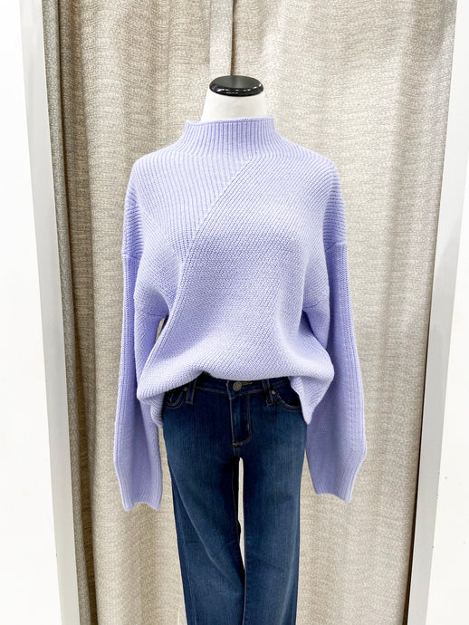 Raya Sweater in Periwinkle