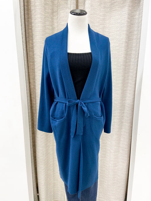 Hayward Cardigan in Deep Teal