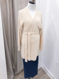 Holding Hands Cardigan in Ivory