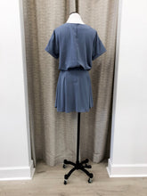 Alanis Dress in Blue - FINAL SALE