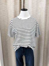 Alfie Tee in Stripes