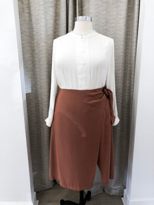 Mitchell Skirt in Brick
