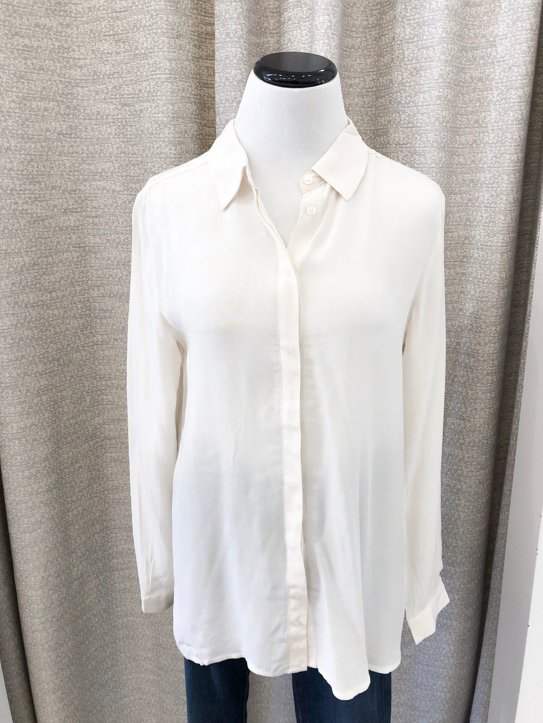 Caden Blouse in Ivory