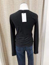 Becky Sparkle Blouse in Black