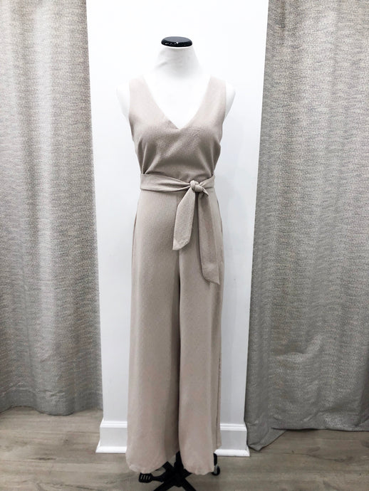 Scarlett Jumpsuit in Taupe