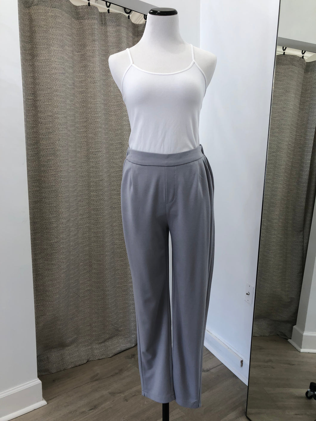 Modern Audrey Pant in Slate Blue