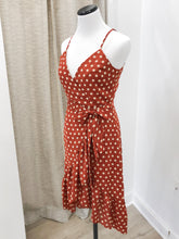 Pretty Woman Dress in Mahogany Dots
