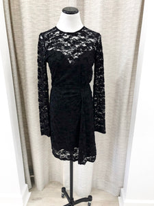 Callahan Dress in Black Lace