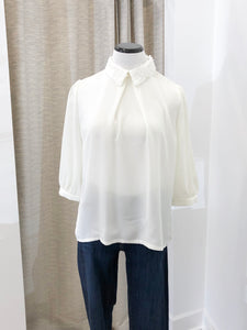 Peggy Jean Collared Blouse