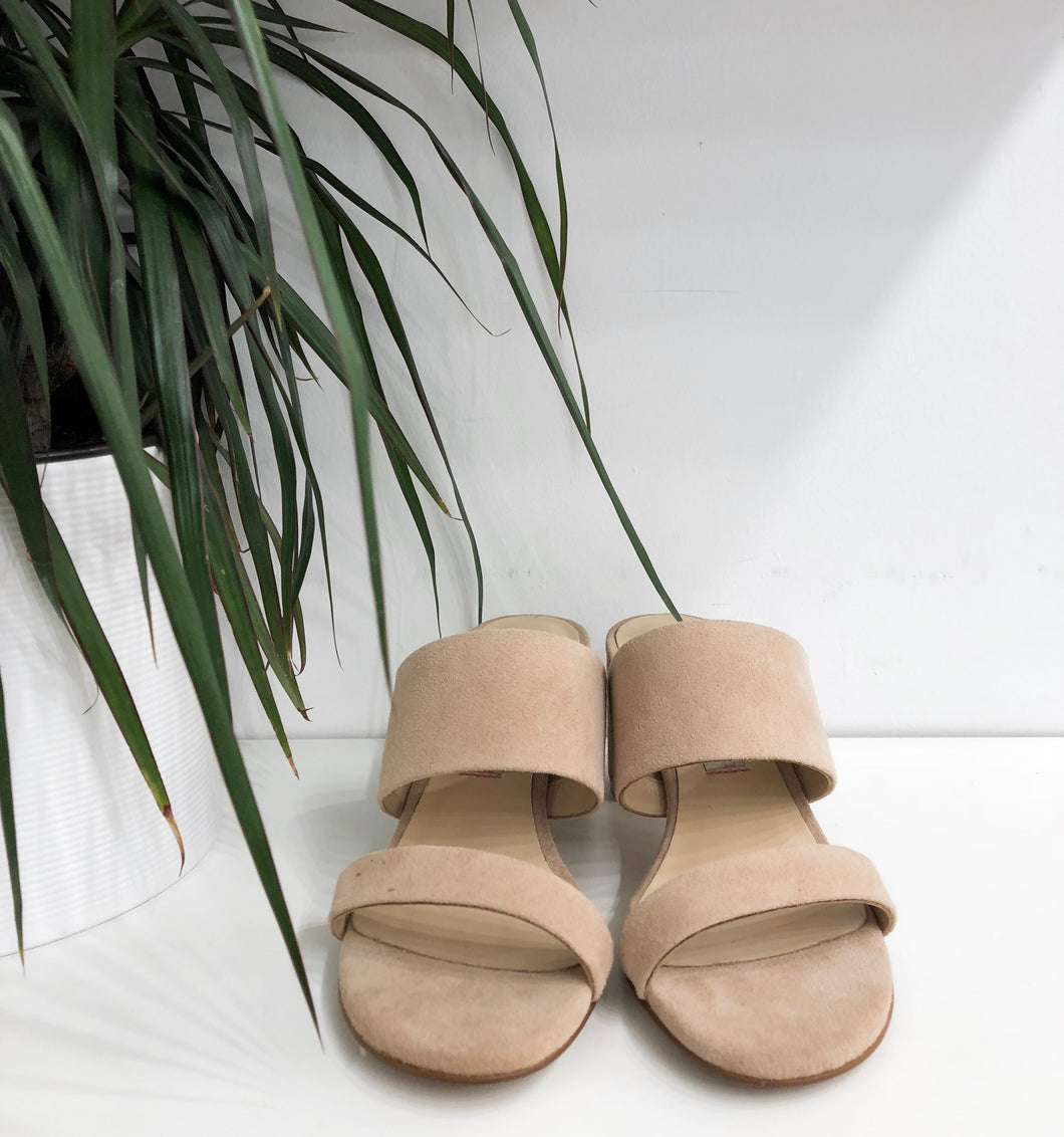 Lakeview Slide Sandal in Tigers Eye - Final Sale
