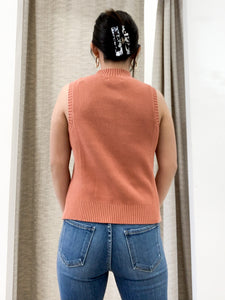 The Tommy Top in Apricot