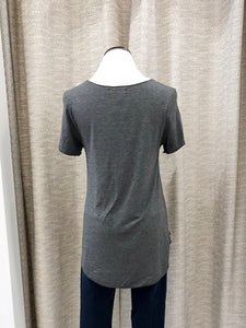 Everyday Short Sleeved Tee in Charcoal