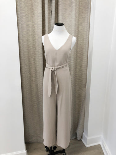 Paige Jumpsuit in Clay