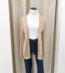 Bobbi Cardigan in Taupe