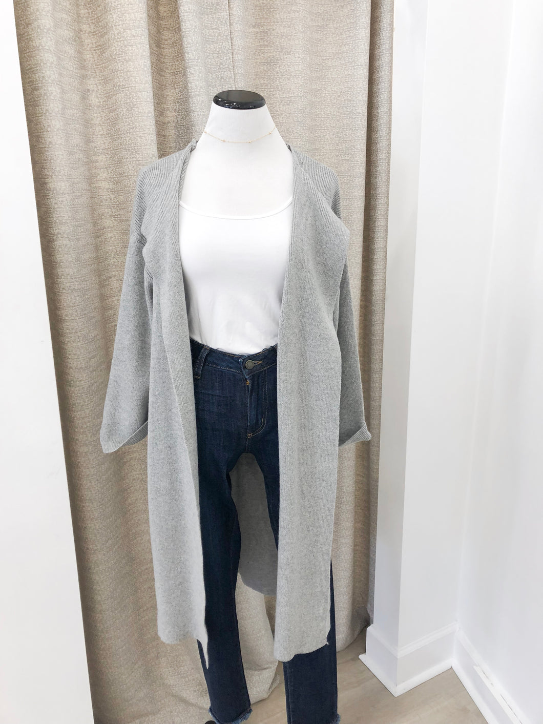 Irene Cardigan in Grey