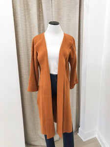 Irene Cardigan in Cognac