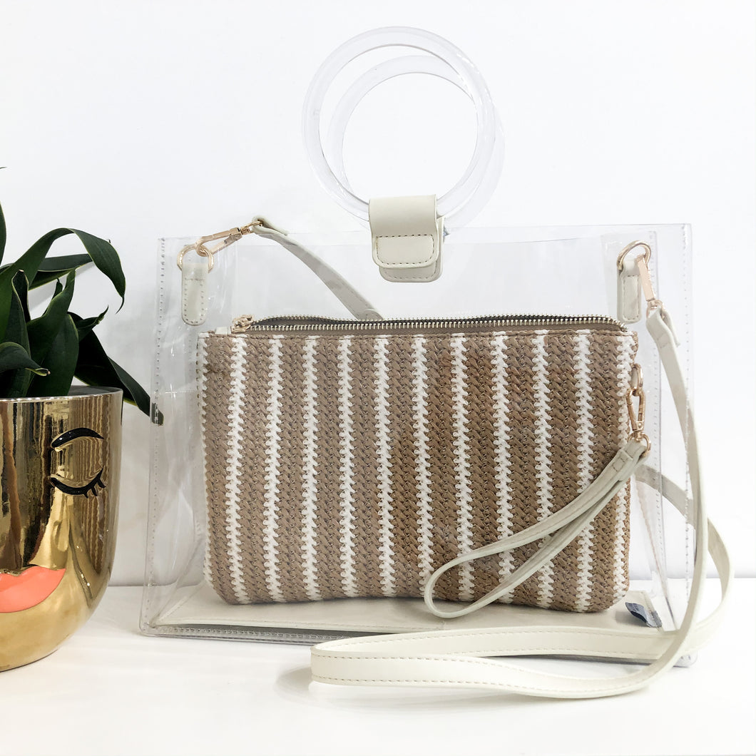 Abilene Clear Handbag