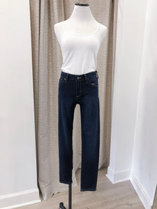 Diana Skinny Cropped Denim in Dark Wash - FINAL SALE