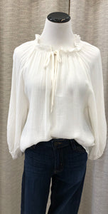 Sofia Blouse in White