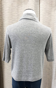 Morgan Top in Heather Gray