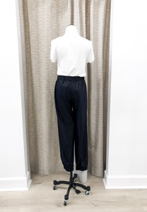 Marc Trousers in Navy Shine - FINAL SALE