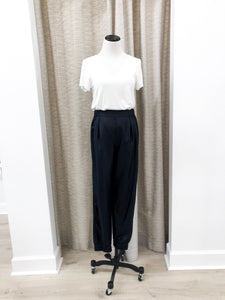Marc Trousers in Navy Shine