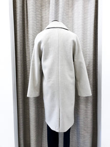 Siena Wool Coat in Oat - FINAL SALE