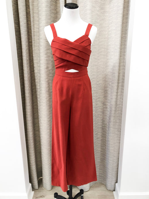 Marnie Jumpsuit in Red