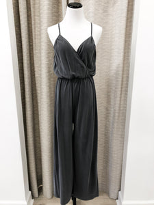 Paulina Jumpsuit in Charcoal