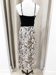 Anastasia Skirt in Snake