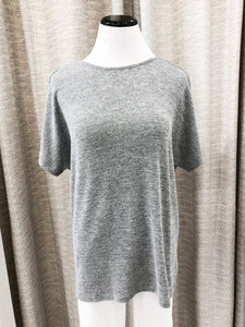Anders Reversible Top in Charcoal