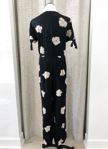 Piera Jumpsuit in Black Floral