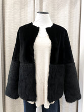 Bosworth Faux Fur Jacket in Black