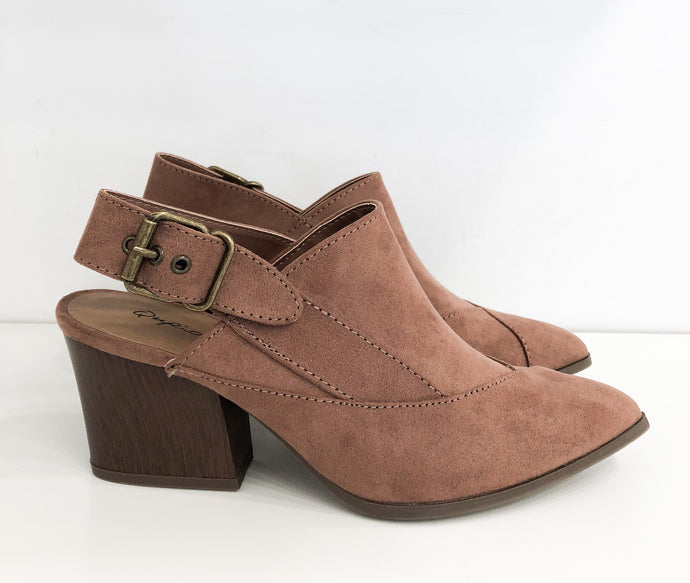 George Mule in Rose Taupe