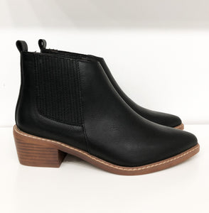 Derek Booties in Black
