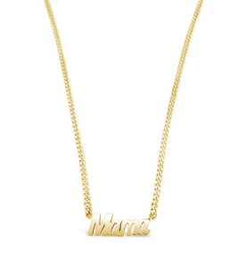 Big Mama Necklace in Gold Vermeil by Sierra Winter Jewelry