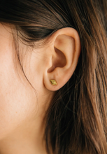 Santa Fe Studs in Gold Vermeil by Sierra Winter Jewelry