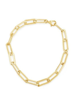 Hank Bracelet in Gold Vermeil by Sierra Winter
