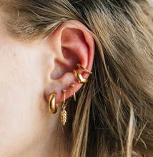 Kate Hoops in Gold by Sierra Winter Jewelry
