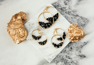 Small Cluster Earrings